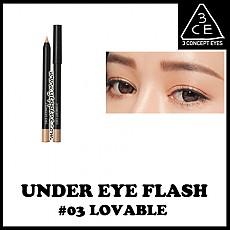 [3CE]下眼线珠光笔#3自然象牙白色 0.4g