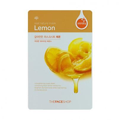 [菲诗小铺The Face Shop]鲜果物语面膜贴-柠檬