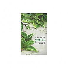 [自然乐园]真实自然萃取绿茶面膜10片23ml*10