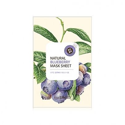 [The Saem得鲜]大自然蓝莓面膜贴20ml