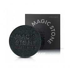 [爱普丽]April Skin魔法天然清洁皂100%天然皂100g-黑色