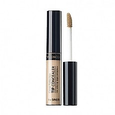 [The Saem得鲜]Cover Perfection Tip Concealer 01.Clear Beige