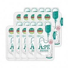 [Mediheal]A:PE舒缓乳清蛋白面膜 10片/1盒