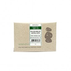 [Innisfree] Eco Beauty Tool Jeju Volcanic Oil Control Paper 50 Sheets