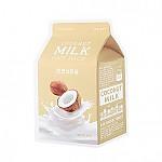 [A'PIEU 奥普]牛奶面膜#椰子牛奶
