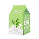[A'PIEU 奥普]牛奶面膜#绿茶牛奶