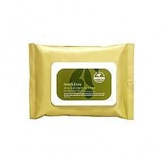 [悦诗风吟]Innisfree黄金橄榄保湿卸妆湿巾 30枚