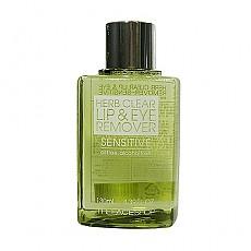 [菲诗小铺The Face Shop]草本眼唇卸妆液绿色装130ml