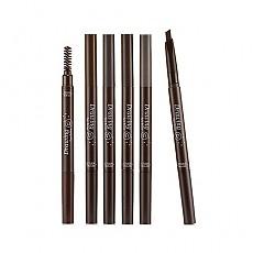[伊蒂之屋]睛彩自然眉笔 #01茶褐色0.2g