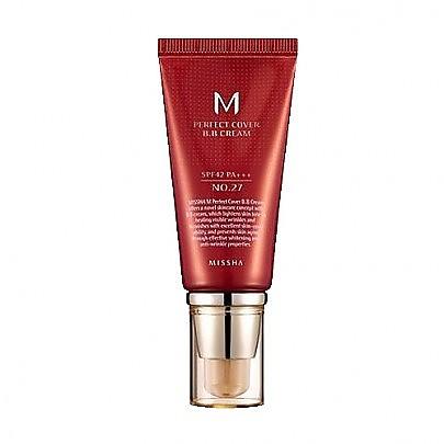 [谜尚Missha]M完美红色BB霜#27 蜂蜜肤色 50ml