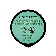 [Innisfree] Capsule recipe pack #Bija & Aloe 10ml