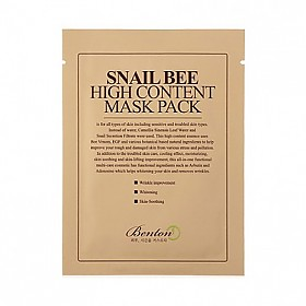 [Benton]蜗牛蜂蜜高能量面膜1片20g(贴片式)