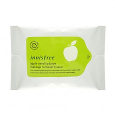[Innisfree] Apple Seed Lip & Eye Remover Tissue ( 30 sheets )
