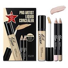 [CLIO] Kill Cover Pro Artist Liquid Concealer Set #002 (BP Lingerie)