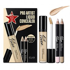 [CLIO] Kill Cover Pro Artist Liquid Concealer Set #004 (BO Ginger)