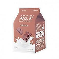 [A'PIEU 奥普]牛奶面膜#巧克力牛奶