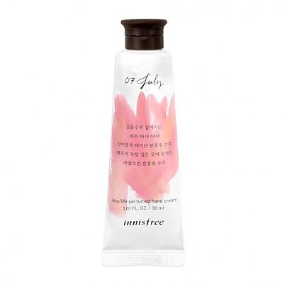 [Innisfree] Jeju Life Perfumed Hand Cream 30ml #07 (July)