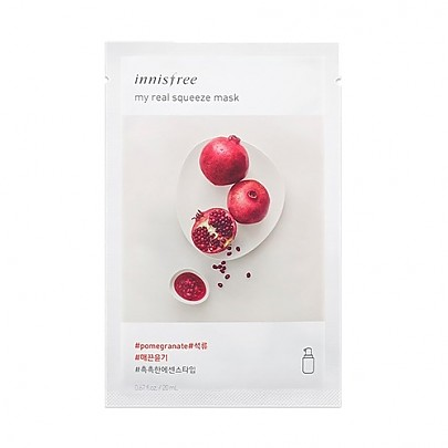 [Innisfree] My Real Squeeze Mask (Pomegranate)