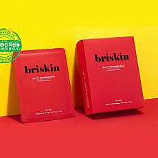 [Briskin]真正适合的第二皮肤面膜-抗皱 10片装