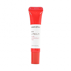 [Innisfree] My Lip Balm #10 (Ruby Grapefruit Tea)