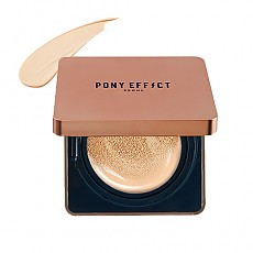 [MEMEBOX] PONY EFFECT Cover Stay Cushion Foundation SPF50+ PA+++ (Rosy Ivory)
