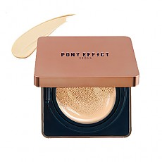 [MEMEBOX] PONY EFFECT Cover Stay Cushion Foundation SPF50+ PA+++ (Natural Ivory)
