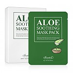 Benton Aloe Soothing Mask Pack 23g 芦荟保湿面膜 10片状