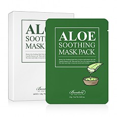 Benton Aloe Soothing Mask Pack 23g 芦荟保湿面膜 10片状