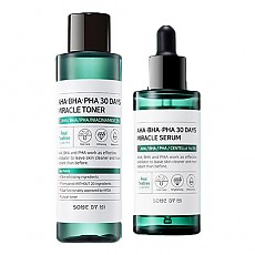 [SOME BY MI] AHA BHA PHA 30 Days Miracle Toner + Serum