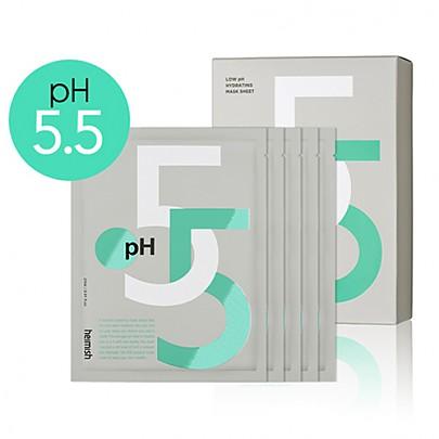 heimish Low ph hydrating mask sheet 5sheets) 低PH的补水保湿面膜 27ml5片装