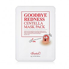 Benton Goodbye Redness Centella Mask Pack 23g 10ea 再见红肿积雪草面膜 10片