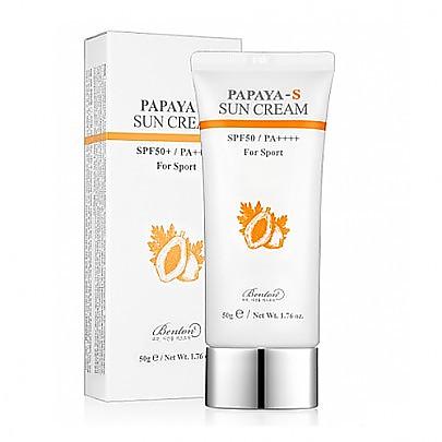Benton Papaya-S Sun Cream 防晒霜 SPF50+ / PA++++ 50g