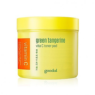 [Goodal] Green Tangerine Vita C 爽肤水棉片