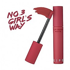 [It's Skin] 日常彩色唇釉 Crush Matte #03 (Girls Way)