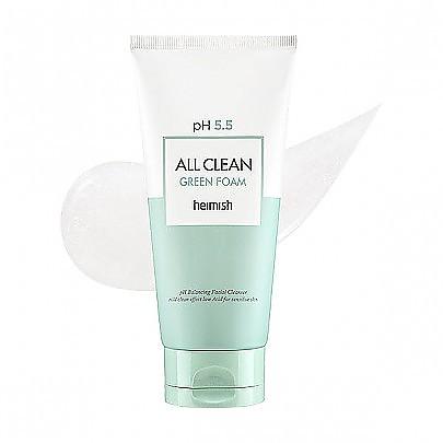 heimish All Clean Green Foam pH 5.5 绿色全面清洁洗面奶 150ml
