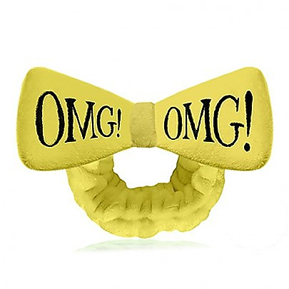 double dare OMG! HAIR BAND 彩色发带 - YELLOW 浅黄色