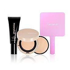 [Moonshot] Moonshot Balm Cushion Set #201 (Face Perfection Balm Cushion 201 Special Pack+Multi Protection UV Fixer+Mirror)