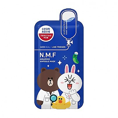 [Mediheal] Line Friends N.M.F补水面膜