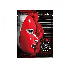 double dare OMG! Red+Snail Mask 1ea 红色+蜗牛面膜 1张