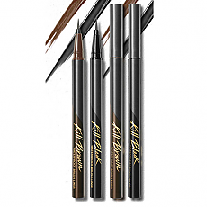 [CLIO] Waterproof Brushliner Brown Set XP