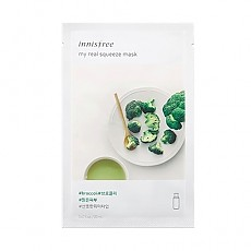 [Innisfree] My Real Squeeze Mask (Broccoli)