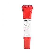 [Innisfree] My Lip Balm #10 (Ruby Grapefruit Tea)